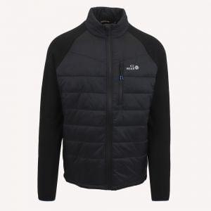 VESTFIRÐIR Hybrid jacket black