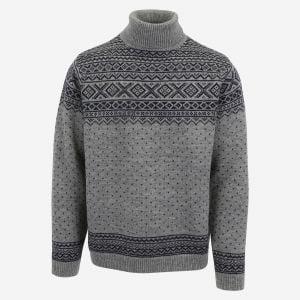 Hákon turtle neck merino Nordic sweater
