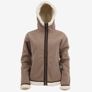 Hanna Sherpa fleece jacket