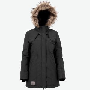 Helena warm down parka for women