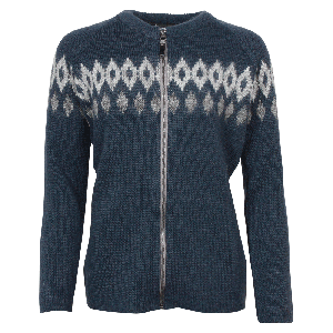 Hildur Icelandic wool sweater with zip