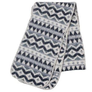 Hofsá Icelandic wool scarf