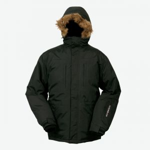James mens warm down parka