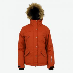 Julie womens warm down parka