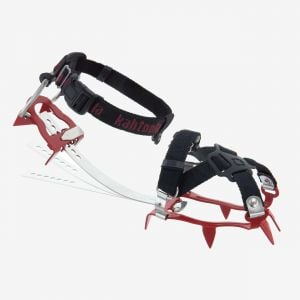 KTS spikes crampons red