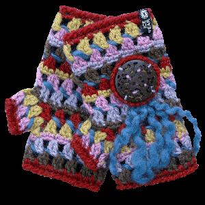 LAUFEY Hand crochet wool mittens
