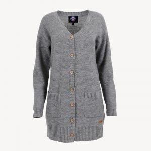 Maeja long wool cardigan
