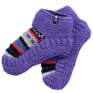 MAGNEY Hand knitted wool socks