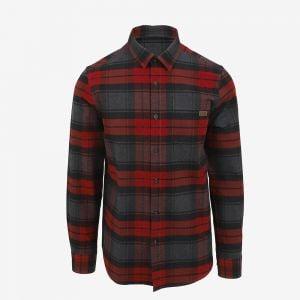 Rumur checkered lumberjack shirt