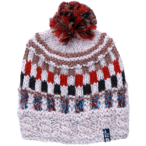 Valey hand knitted wool hat