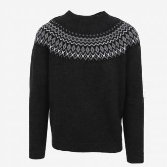 Ástmar merino mens Nordic knit sweater