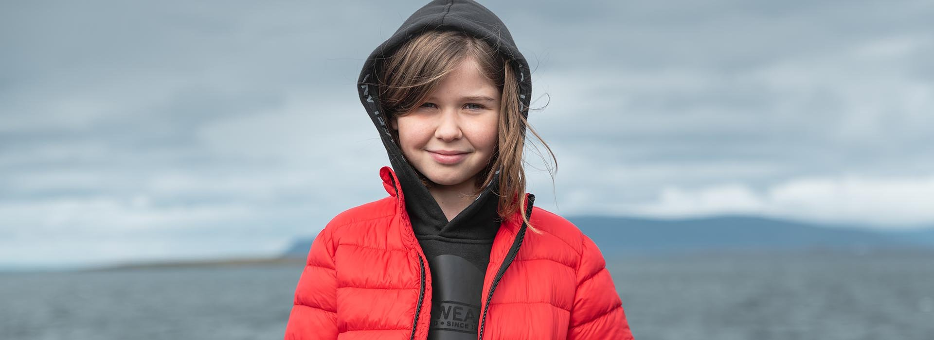 Padded jackets for kids