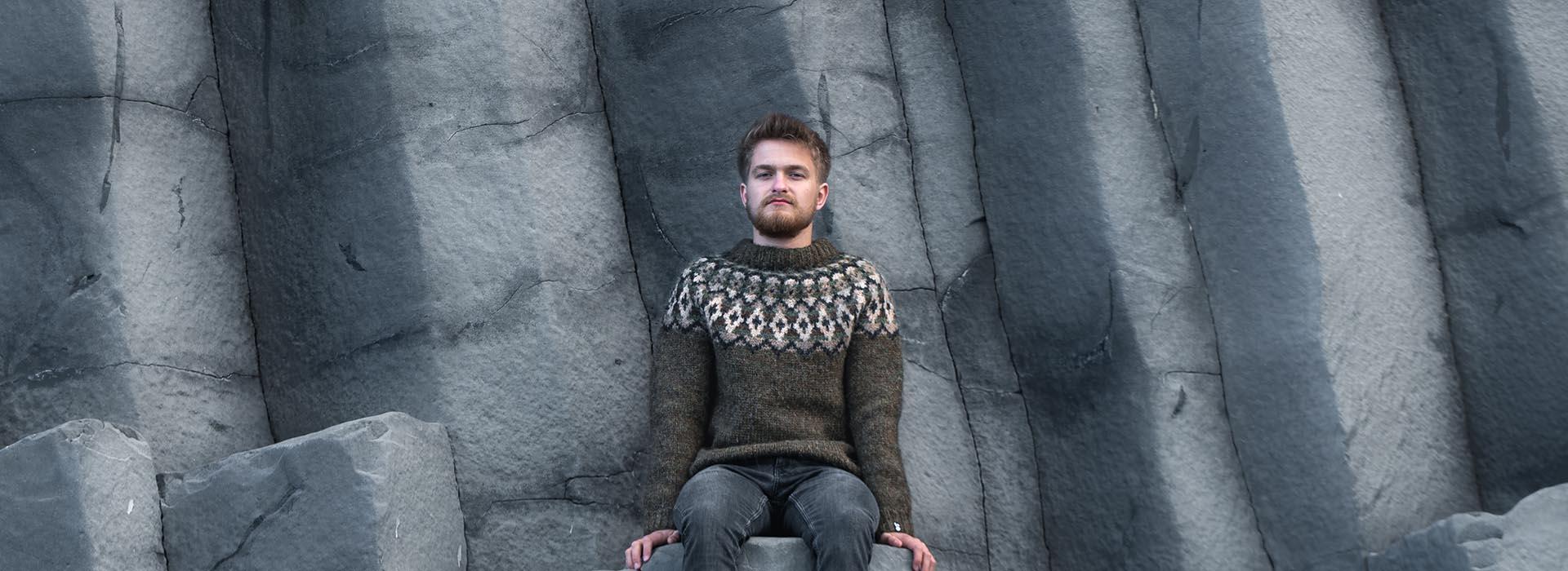 Warm wool sweaters
