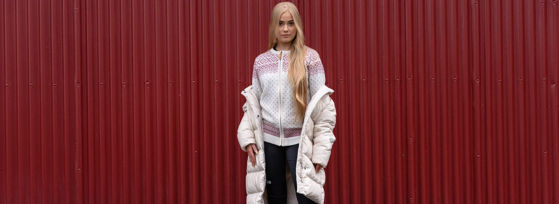 Nordic knit sweaters