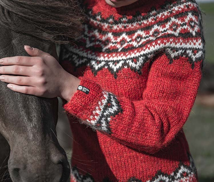Authentic Icelandic wool sweaters