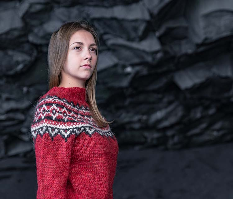 Authentic Icelandic wool sweaters
