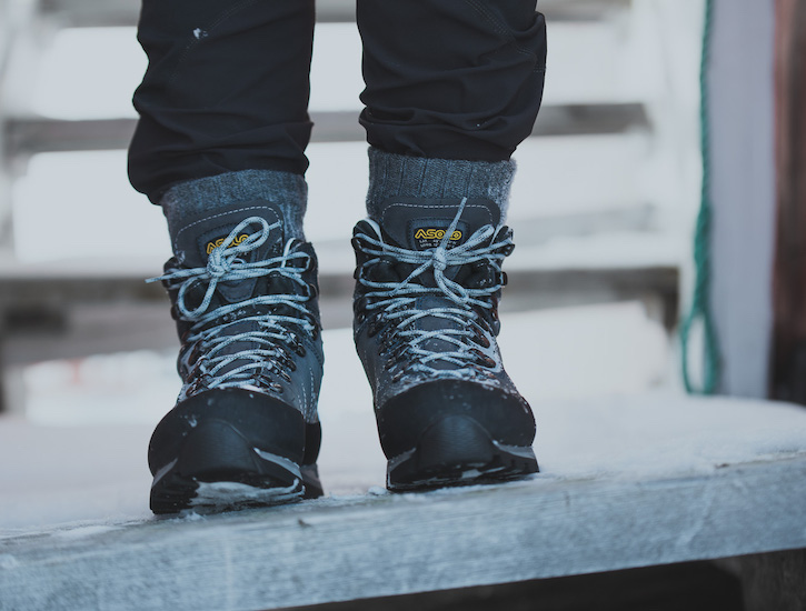 Shoes for hiking and packpacking