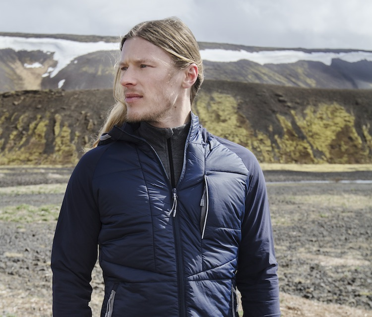 Hybrid- and down jackets