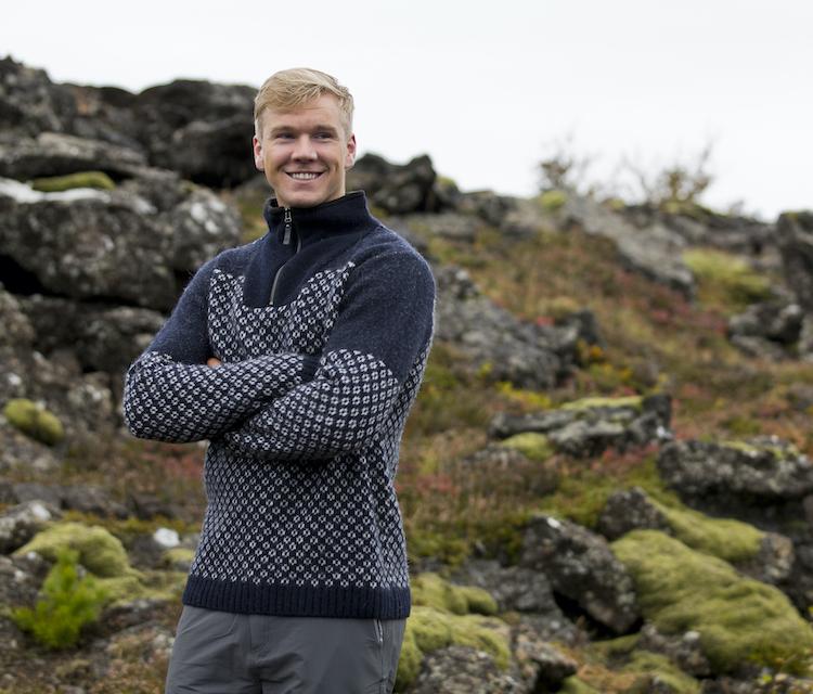 Norwegian wool jumpers