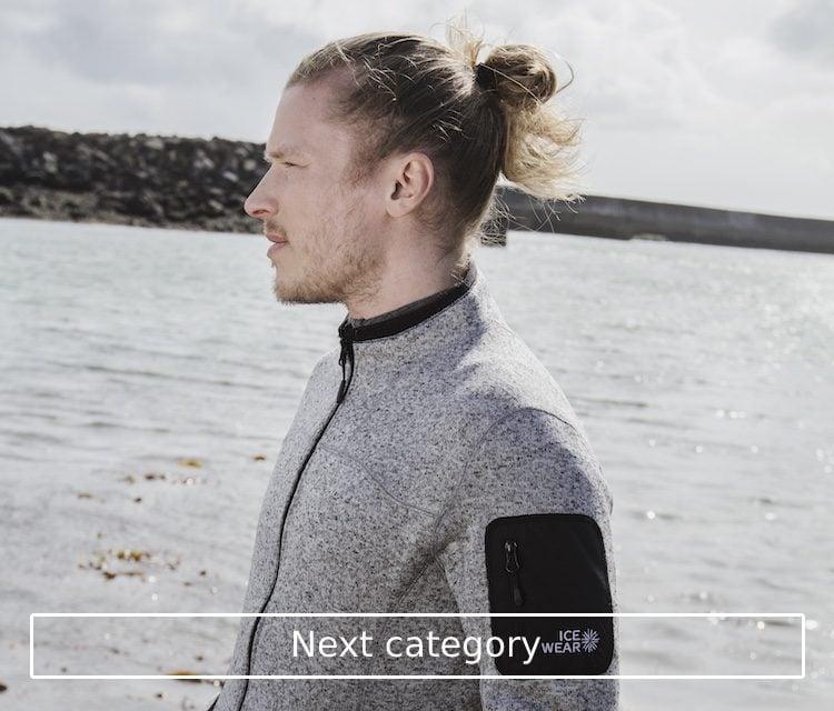 Icelandic fleece sweaters for men