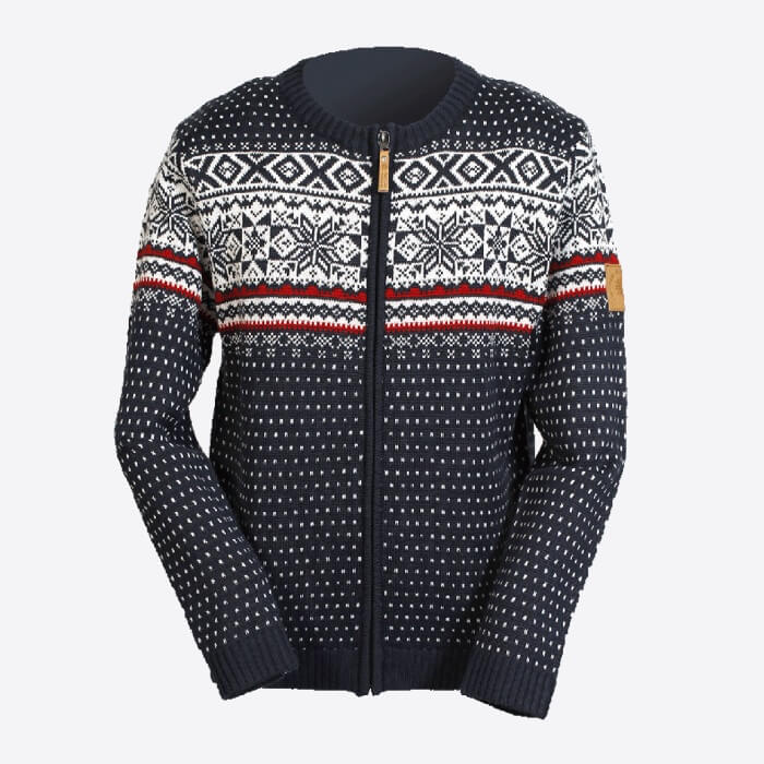 Magnus wool blend cardigan