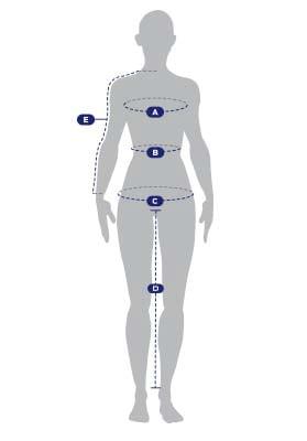 Women measurements guide