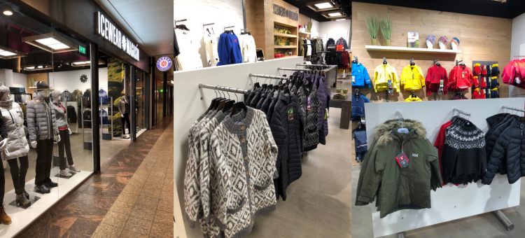 New Icewear Magasín store in Smáralind shopping mall