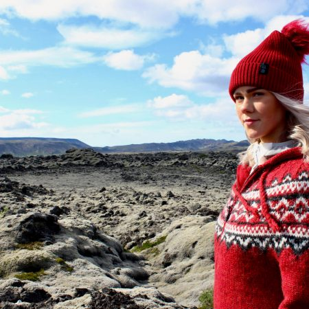 Icelandic Knitting Patterns with Lopi Yarn to Make a Lopapeysa