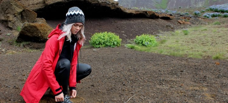 Hiking in the Countryside - Outdoor Wear in Iceland