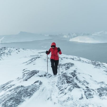 Experience the cold like the Arctic explorers in the Northwest passage